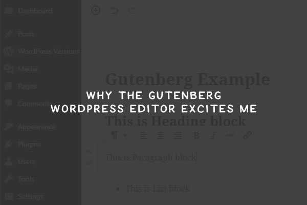 I Admit It: Gutenberg Excites Me