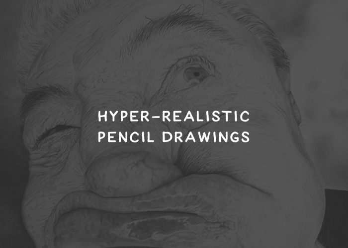 30 Stunning Hyper-Realistic Pencil Drawings