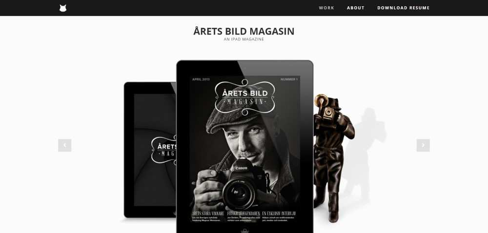 Inspiration Web Graphic Design Portfolio Andreas Knutsson