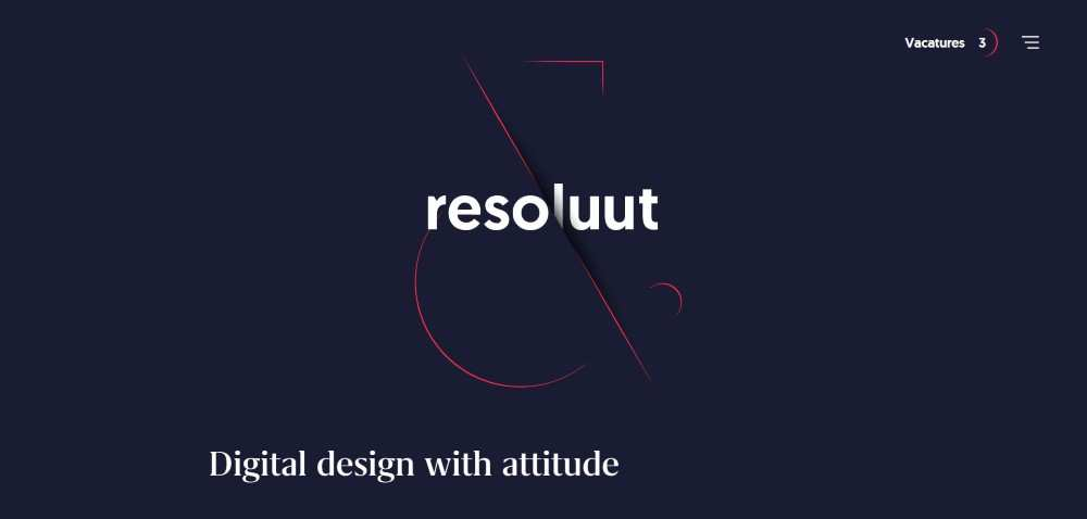 Inspiration Web Graphic Design Portfolio Resoluut