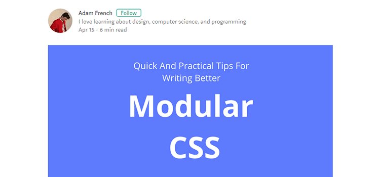 Reusable, Maintainable, and Modular CSS