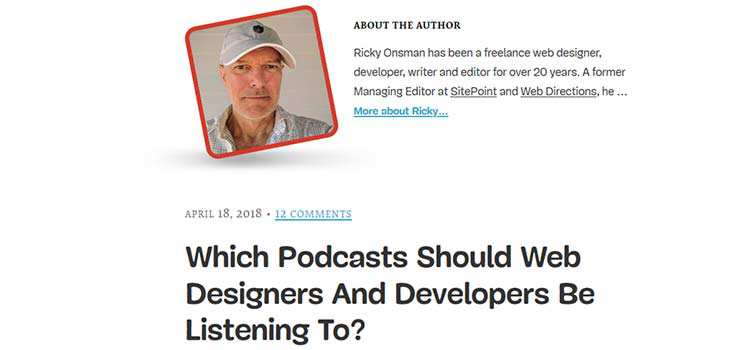 Which Podcasts Should Web Designers And Developers Be Listening To?