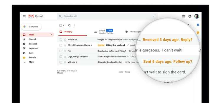 A quick rundown of the new Gmail
