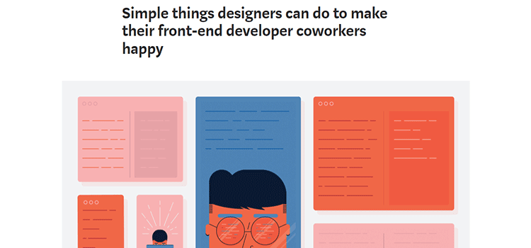 Simple things designers can do to make their front-end developer coworkers happy