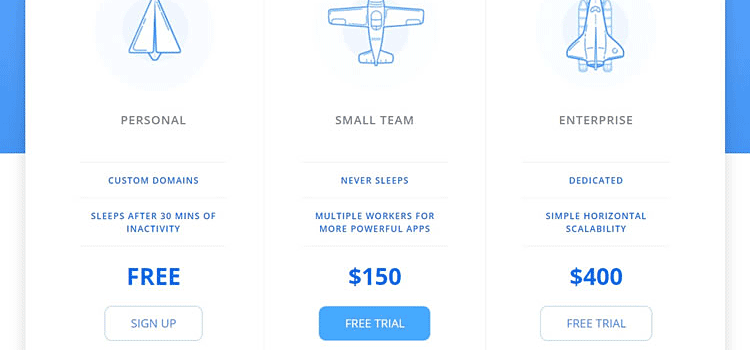 10 Free Responsive Pricing Table HTML & CSS Snippets