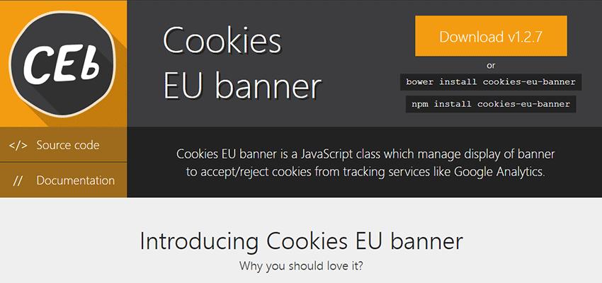 Cookies EU Banner