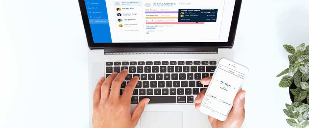 FreshBooks Best Invoicing Time Management Apps 2018