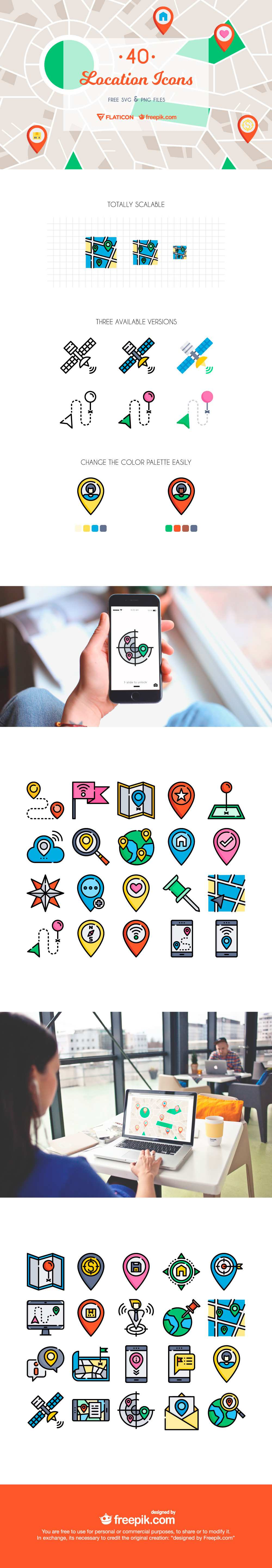 location free icon set featured