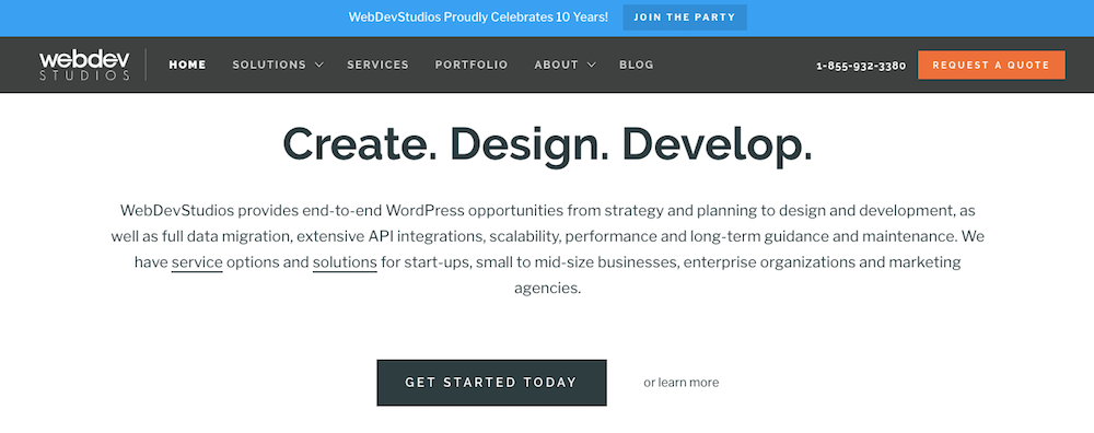 WebDevStudios Top WordPress Designer 2018