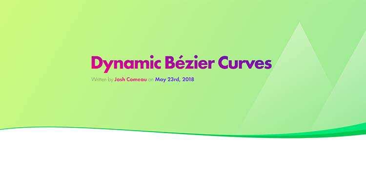 Dynamic Bézier Curves