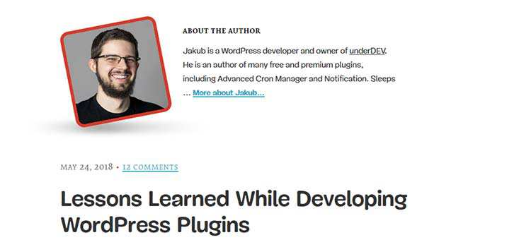 Lessons Learned While Developing WordPress Plugins
