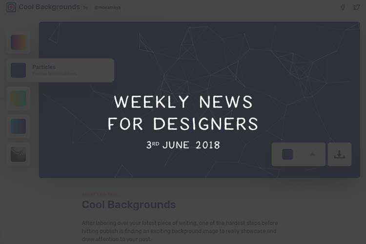 Web design - Magazine cover