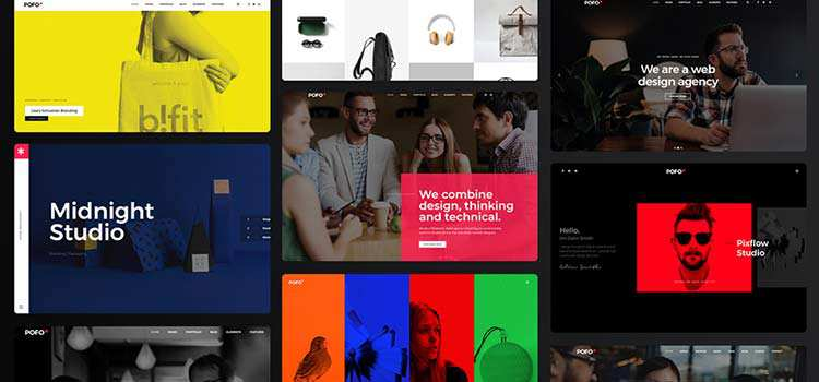 POFO is the WordPress Theme for Building Beautiful, Hand-Crafted Websites
