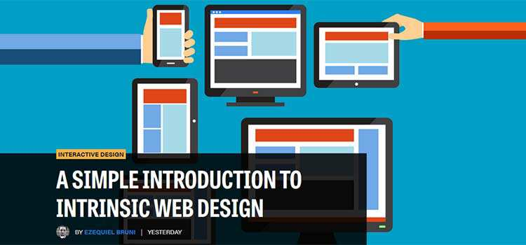 Interactive Design A Simple Introduction to Intrinsic Web Design