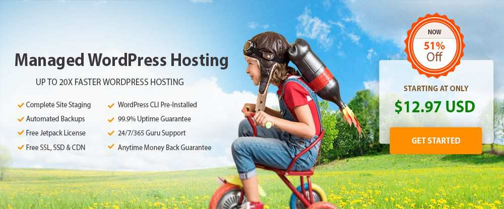 A2's Fully Managed WordPress Hosting