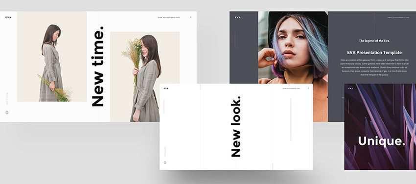 Eva free keynote templates creative designer