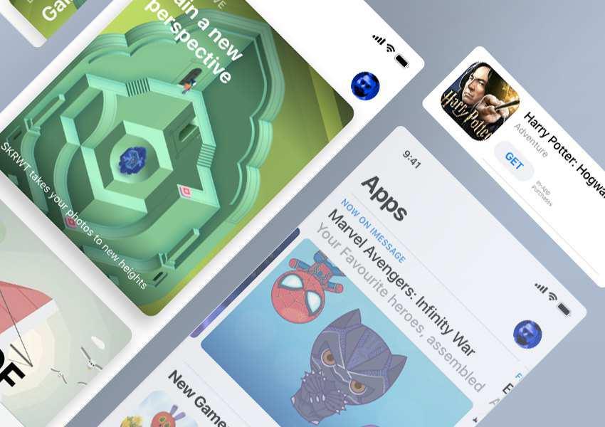 iOS11 App Store GUI