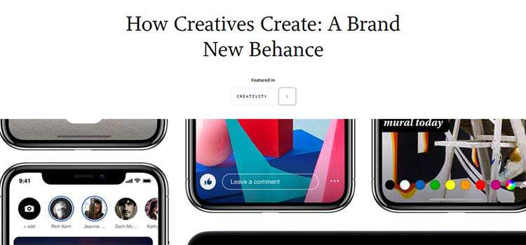 How Creatives Create: A Brand New Behance