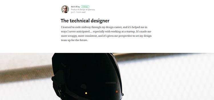 The technical designer