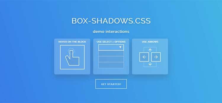 Box-shadows.css