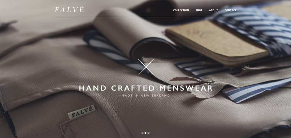 F A L V É falve ecommerce web design inspiration user interface shop