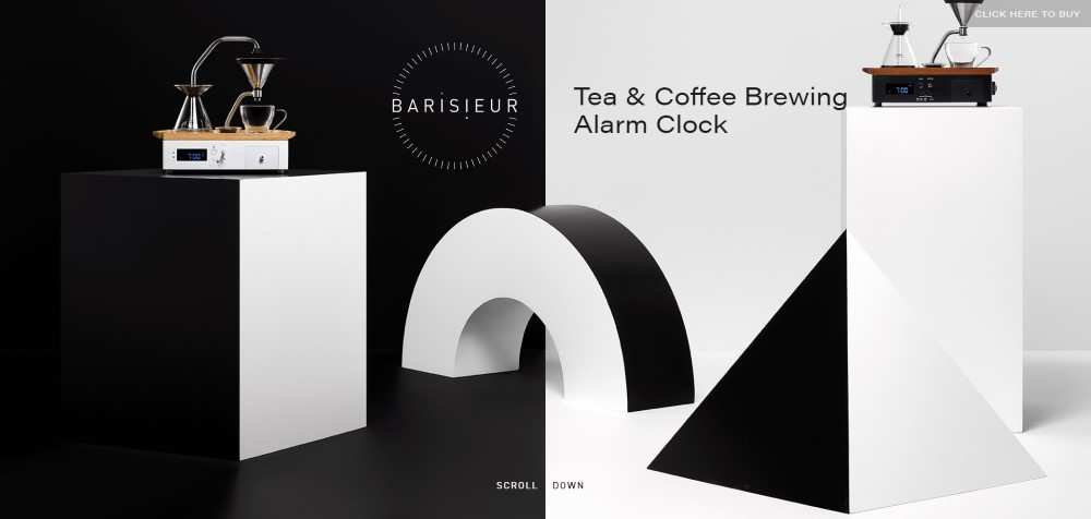 The Barisieur ecommerce web design inspiration user interface shop