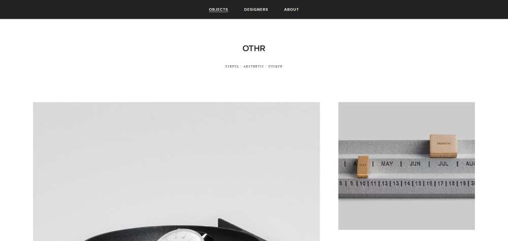 othr ecommerce web design inspiration user interface shop