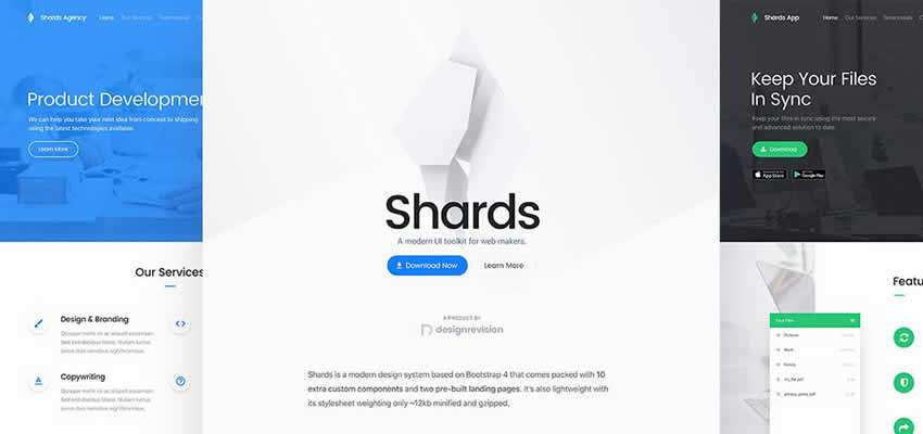 Shards bootstrap free