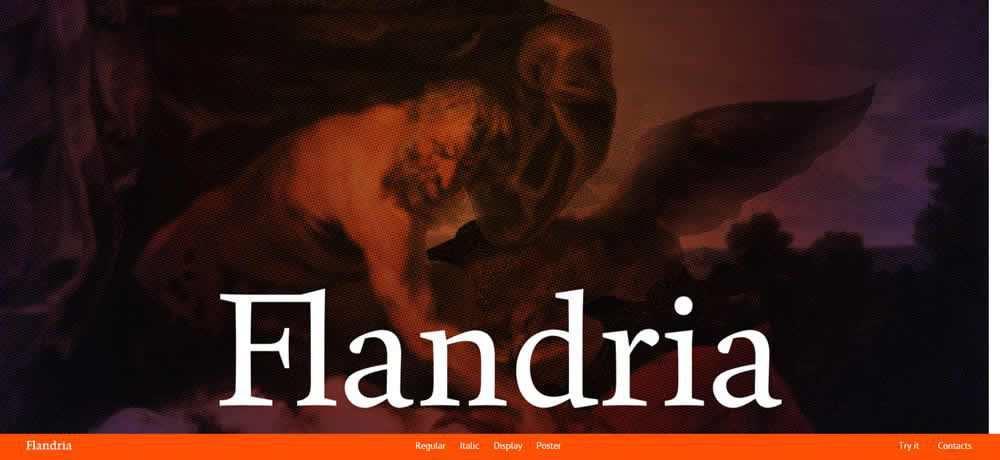 Parallax Scrolling Web Design Inspiration Flandria