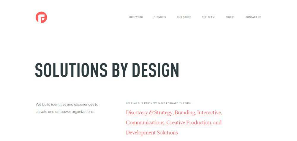 Focus Lab web design agency creative studio inspiration