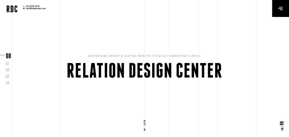 RDC web design agency creative studio inspiration