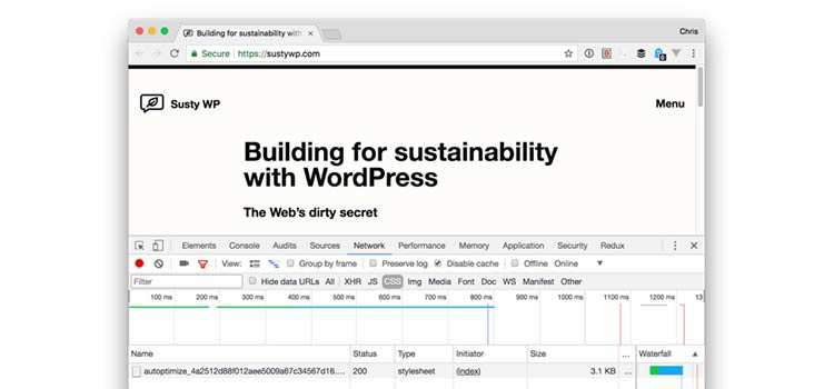 Delivering WordPress in 7KB