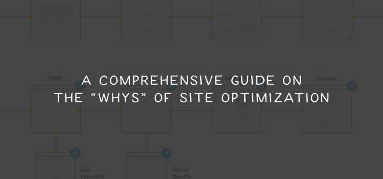 "A Comprehensive Guide on the ""Whys"" of Site Optimization"