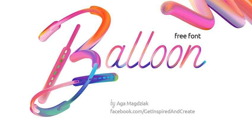 Font Balloon