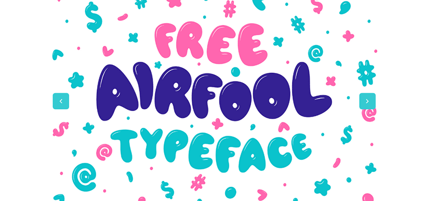 Airfool Free Display Typeface