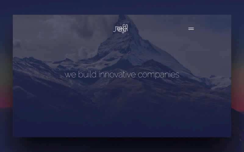 Maker PSD Landing Page Template Free Adobe Photoshop