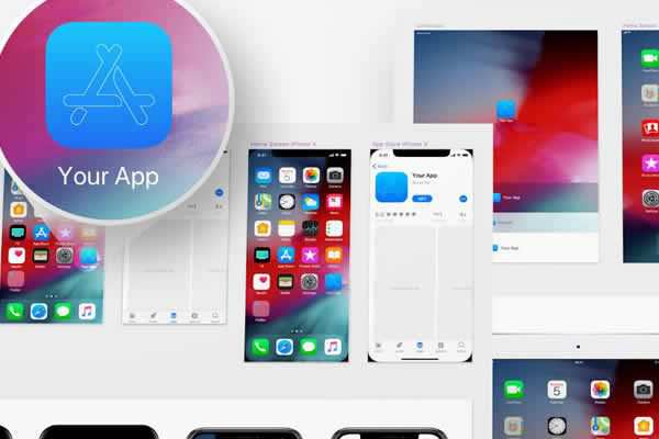 iOS 12 App Icon Template free ui templates resources designer