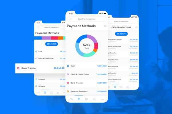 Payments Tracking App Mobile Template free ui templates resources designer