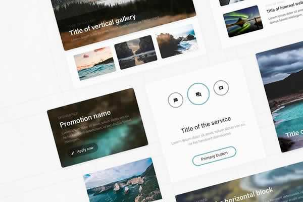 20 Free Adobe XD UI Kits free ui templates resources designer