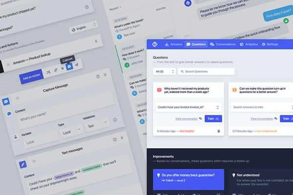 Chatbot UI Kit free ui templates resources designer
