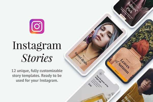 Instagram Story Templates free ui templates resources designer