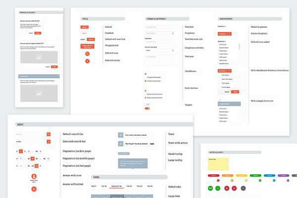 Wireframe Markup kit v2.0 free ui templates resources designer