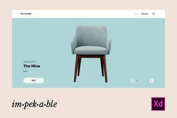 Ecommerce Furniture Store Website Template free ui templates resources designer