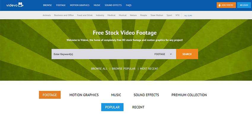 Free Stock Video Source HD 4K Videvo