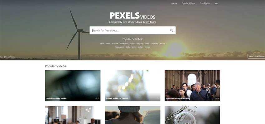 Free Stock Video Source HD 4K Pexels Videos