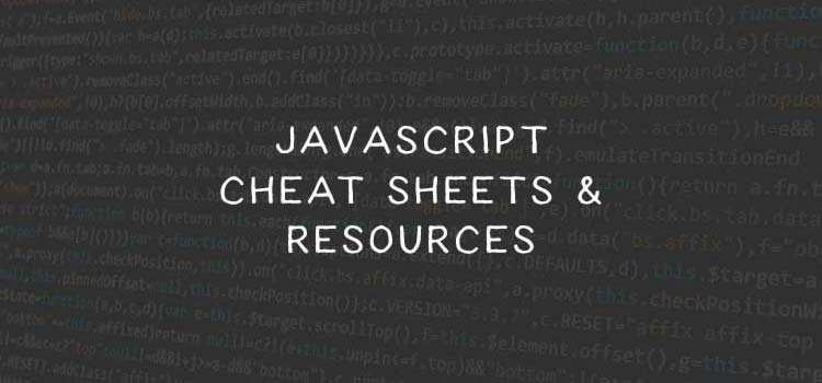Top 50 Cheatsheets and Reference Guides for JavaScript