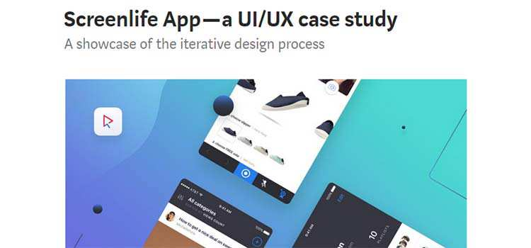 Screenlife App — a UI/UX case study