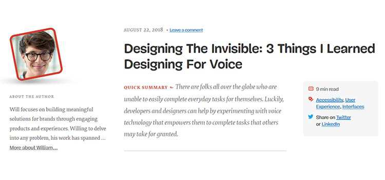 Designing The Invisible: 3 Things I Learned Designing For Voice