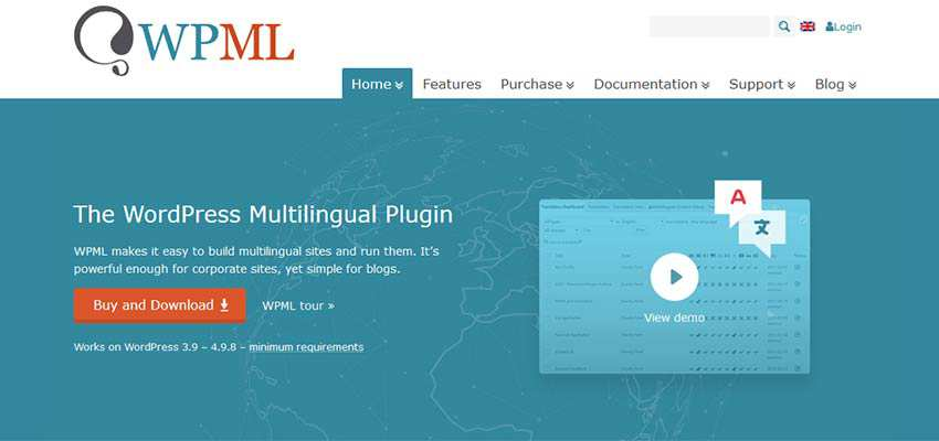 WPML WordPress Plugin