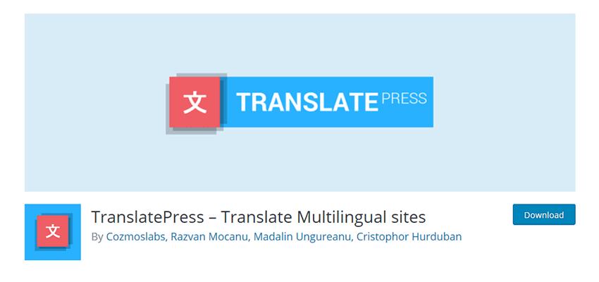 TranslatePress WordPress Plugin